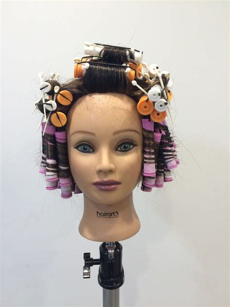 Perm wrap   Cosmetology in 2019   Perm, Cosmetology, Fashion