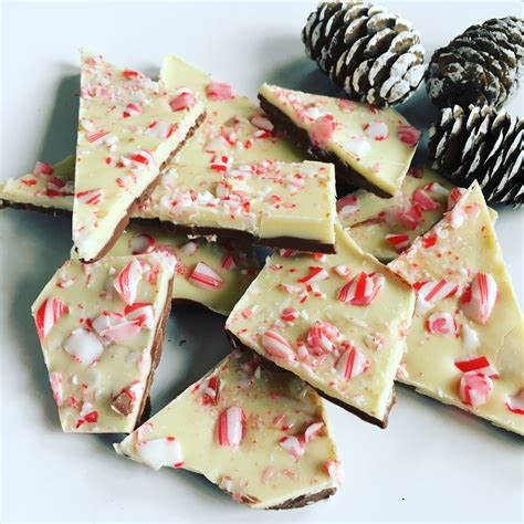 Chocolade Pepermunt Bark - I am Cooking with Love