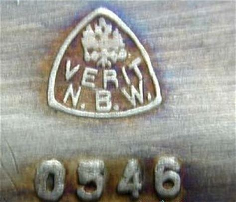 Continental silver plate: marks of European makers: M-N-O-P