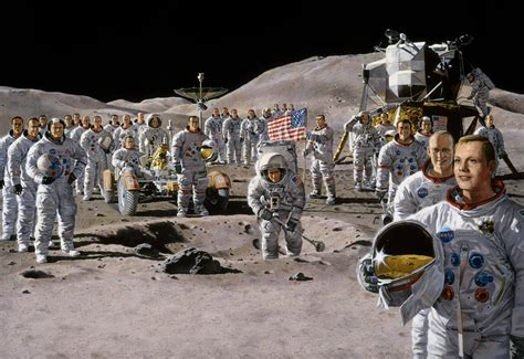 Apollo 11: See Our Vintage Moon Landing Illustrations