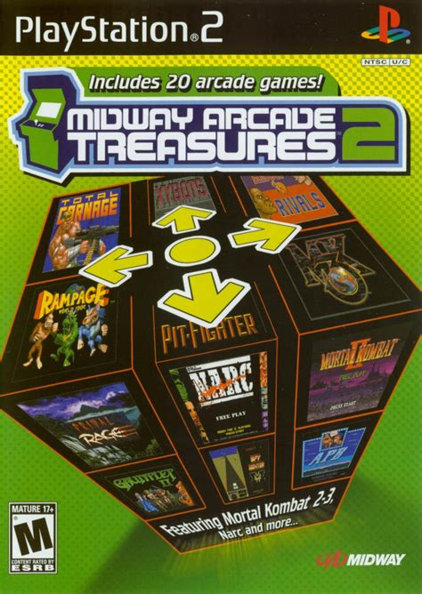 Midway Arcade Treasures 2 for GameCube (2004) - MobyGames
