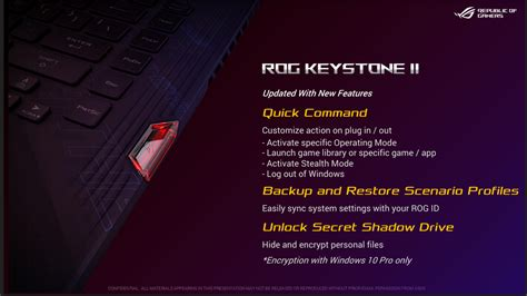 Asus announces new ROG Keystone 2 - NotebookCheck