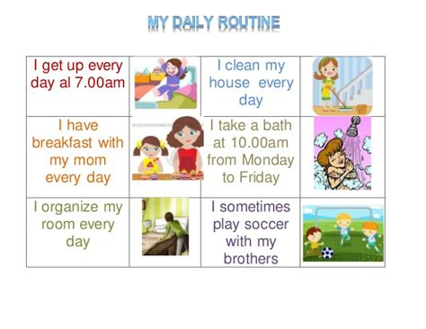 Evodence 2: My daily routine