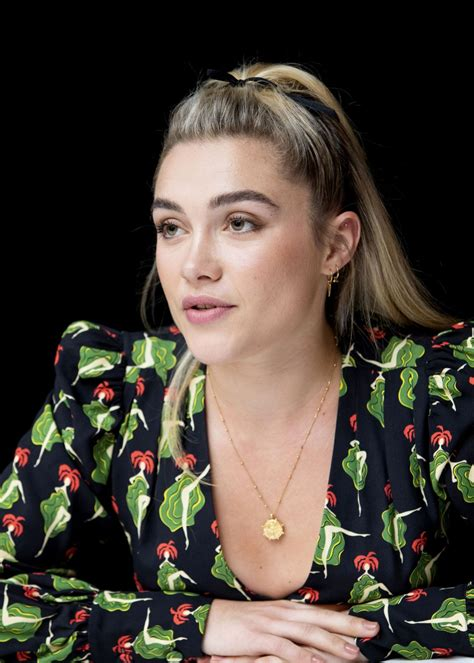 FLORENCE PUGH at Little Women Press Conference in Beverly
