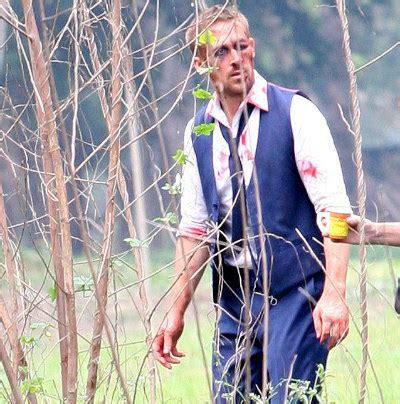 Pic: Ryan Gosling Sports Bloody and Bruised Face on 'Only